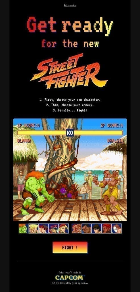 streetfighter email