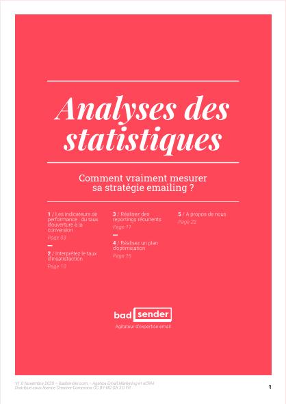 Livre Blanc sur l'analyse des statistiques