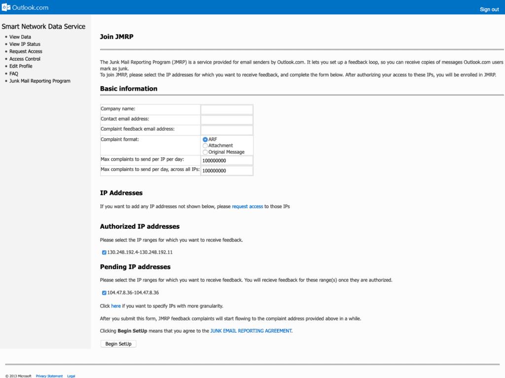 JMRP Outlook.com email Microsoft